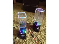 Water speakers- usb