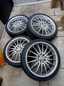 0.z racing alloy wheels