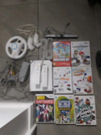 Wii console bundle great condition