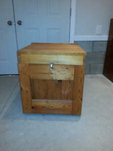 Custom made Firewood storage box for sale