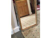 Simple decorative mirror