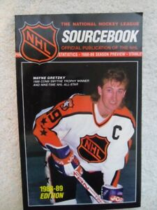 The National Hockey League SOURCEBOOK-1988-89 Edition.