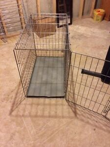 Dog crate $45