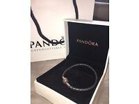 Grey pandora bracelet