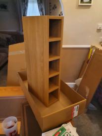 Spice / wine rack wall unit