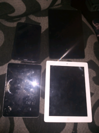 4 tablets spares or repairs