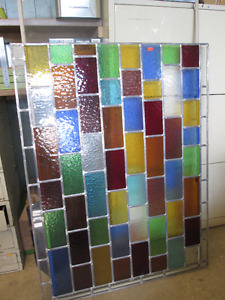 Stained Glass & Leaded Panel
