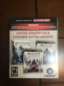 *AMAZING* Playstation 3 Assassins Creed Multi-Pack