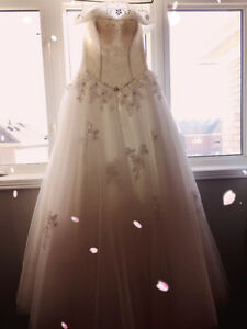 wedding gowns, shoes and mom's dress for sale