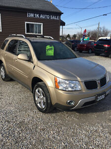2006 Pontiac Torrent SUV, Crossover leather sunroof 6 months war