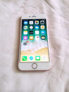 Unlocked IPhone 6S Mint like new 16Gb Rose Gold