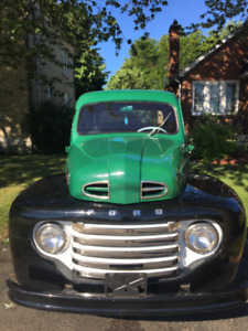 1950 FORD F47.  MIGHT TRADE FOR 40\50 HOT RODDED TRUCK