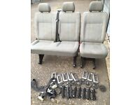 Vw transporter t5 combi original seat set! 2005