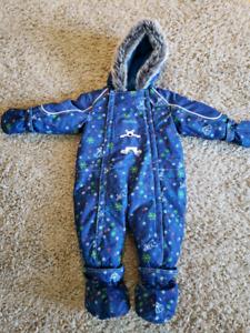 Habit de neige bébé 12 mois