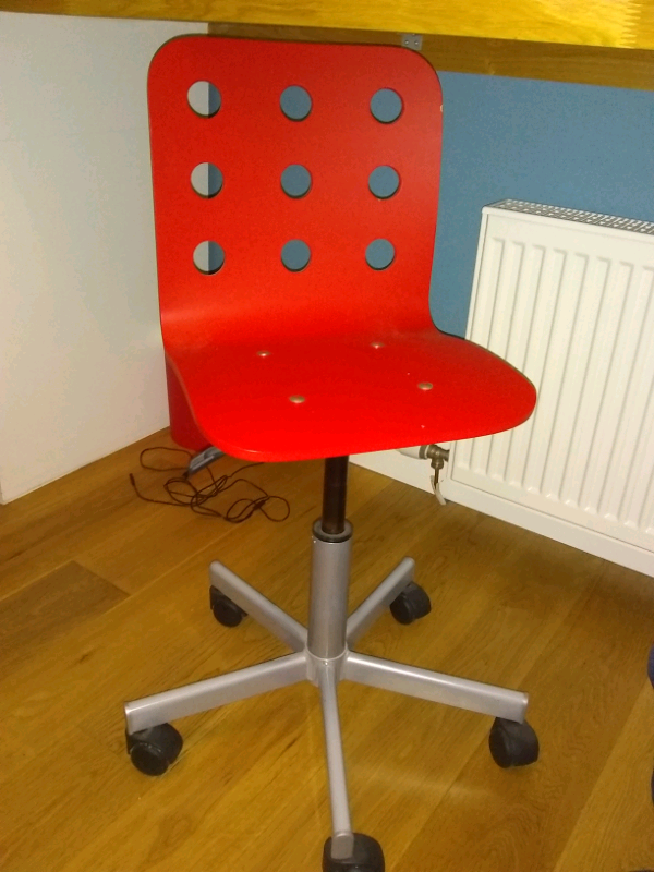 Pleasant Ikea Childs Desk Chair In Comrie Perth And Kinross Gumtree Theyellowbook Wood Chair Design Ideas Theyellowbookinfo