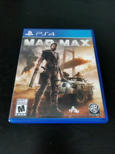 Mad max ps4 with dlc