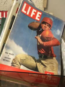 VINTAGE LIFE MAGAZINES AND BOOKS