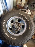 31 inch tires 15 inch rims Ford rims