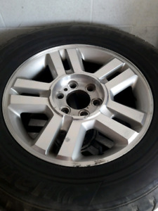 F150 rims with tires