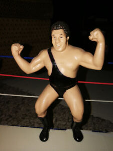 LJN WWF rubber wrestling figure series 6 black strap