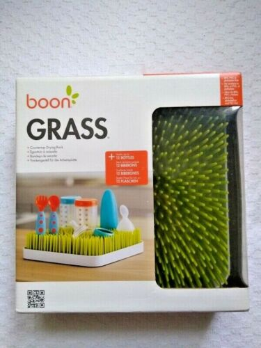 Boon Grass Countertop Drying Rack  Green
