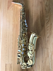Barely used Alto-Saxophone, Alpine Woodwinds