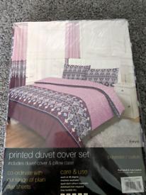 Brand New Double bedding set
