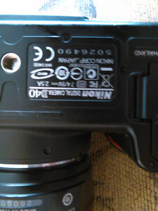 Very good Digital Camera !Nikon D40 and charger Kitchener / Waterloo Kitchener Area image 4