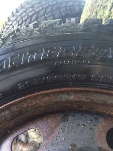 Winter tires and rims 205 60 16 Stratford Kitchener Area image 4