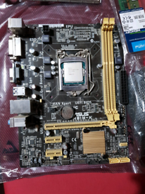 ASUS H81M-K Motherboard with i5-4440, 6GB DDR3 and HYPER 103 cooler