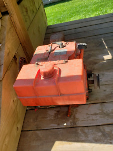 Wichtig Snowblower 8 hp Motor