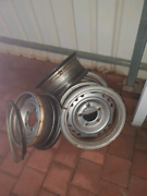 16x6.00 landcruiser rims Woodroffe Palmerston Area Preview