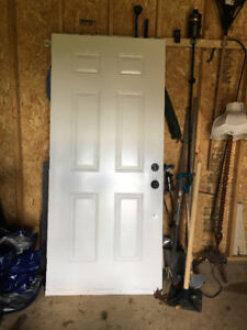 """Exterior Door and Door set - 36"""""""