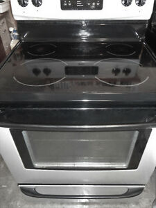 SS Kenmore Glass Stove in Good Condition