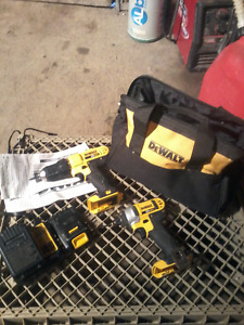 Dewalt Cordless Compact Drill Driver-SOLD