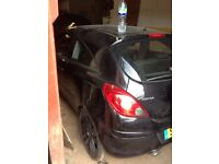 Vauxhall corsa braking doors bumper light wings mirror engine gearbox