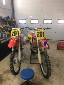 CRF 450 R Honda dirt bike