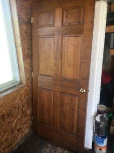 """36"""" Solid Wood Interior Door"""