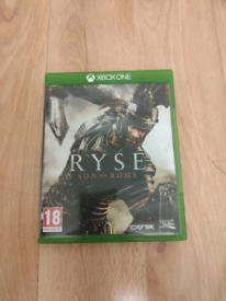 Ryse Son of Rome Xbox one game Like New only £5