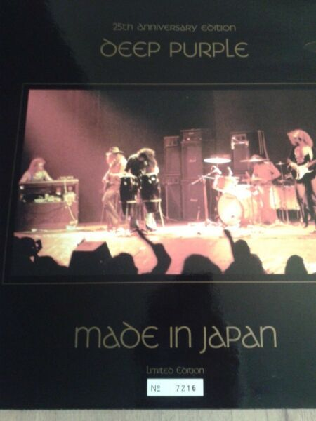 DEEP PURPLE - Made In Japan - 2 lp, 25th Anniversary Edition Picture Disc !!!!