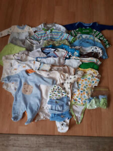 Baby Boy clothes NB to 3 mths