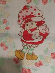 Vintage Strawberry Shortcake Bedsheet/ Tablecloth! Price reduced