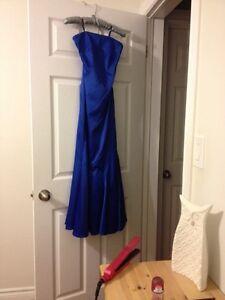 New Beautiful Royal Blue Ball Gown-Xxs  Kingston Kingston Area image 2