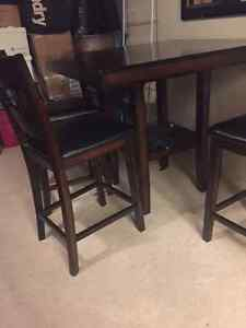 Moving sale - TV stand and pub style dining room table