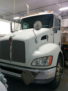 2012 Kenworth T270 with Trailer
