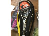 BRAND NEW Dunlop hotmelt pro squash racket