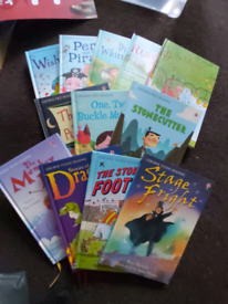 Usborne first reading books and other books