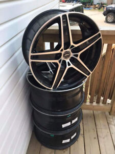 "20"" 5x120 rims for sale or trade"