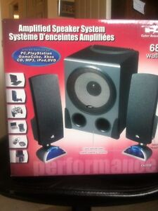 FOR SALE AMPLIFIED SPEAKERS SYSTEM