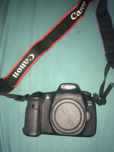 Canon EOS 60D DSLR Camera, Lens Included - test photos included